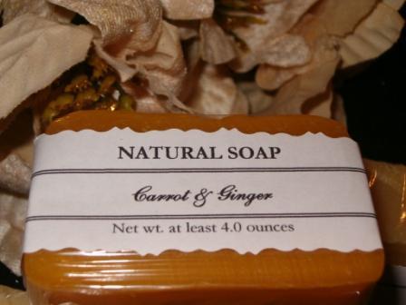 Carrot & Ginger Soap
